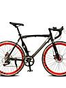 Road Bike Cycling 7 Speed 26 Inch/700CC 60mm Unisex / Men\'s / Women's SHIMANO TX-30 Double Disc Brake Ordinary Monocoque Ordinary/Standard
