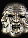 Mask Monsters Festival/Högtid Halloween Kostymer Silver Tryck Mask Halloween Unisex