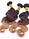 A Ombre Cheveux Bresiliens Ondule 3 Pieces tissages de cheveux