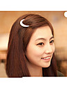 nyaste Crystal Moon strass hår tillbehör för kvinnor, hårspännen för flickor huvudbonad hårnål klämmor hb144