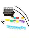 iztoss masina camion cu 4 căi de circuit standard de Ato lama de siguranțe suport pentru blocul de cutie 12v 24v cu siguranță și scule