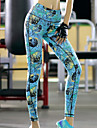 Course / Running Collants Pantalon/Surpantalon Leggings Bas Femme Respirable Sechage rapide Compression Elastique Anti-transpiration