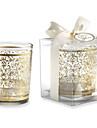 Golden Glass Tealight Holder Without Tealight