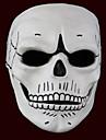 Masque Esprit / Monstre Fete / Celebration Deguisement Halloween Blanc Imprime Masque Halloween Unisexe