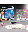 2016 nouveaux jouets educaionai enfant 3d jouet diy clignotant eclat planche a dessin palette