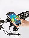 ROSWHEEL® CykelväskaVäska till cykelstyret Vattentät dragkedja Fuktighetsskyddad Stötsäker Bärbar Cykelväska PVC Terylen Pyöräilylaukku