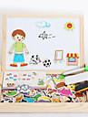 magnetique nouveau sort de sort, fantaisie peu sketch pad, casse-tete jouets-le chiffre