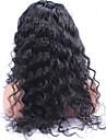 limfria fullt spets människohår peruker 250% densitet brasilianska jungfru hår peruk löst lockigt våg spets front människohår peruker