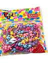 50Pcs/Pack av söta hår Gummiband för barn (Random färg)