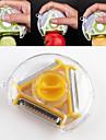 1 st Cutter & Slicer For för frukt / för grönsaker Stainless Steel Multifunktion / Hög kvalitet / Creative Kitchen Gadget