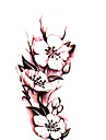 kroppsutsmyckning vattentät tillfälliga tatueringar vacker ros tatuering klistermärke grossist