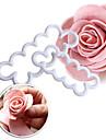Coupe Gateau Fleur Pour Gateau For Chocolate Pour Tarte Pour Cookie Plastique Ecologique Haute qualite La Saint Valentin