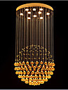 Lampe suspendue ,  Contemporain Plaque Fonctionnalite for Cristal LED MetalSalle de sejour Chambre a coucher Salle a manger Cuisine
