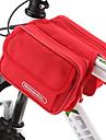 ROSWHEEL® Cykelväska 1.7LVäska till cykelramen Vattentät dragkedja / Fuktighetsskyddad / Stötsäker / Bärbar CykelväskaPVC / Duk /