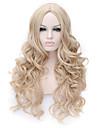 longue couleur blond qualite superieure perruque synthetique boucles capless