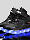 Svart / Blå / Röd / VitPojkar / Unisex-Komfort-Konstläder-Fritid-Sneakers