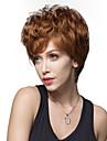 nuova parrucca soffici Remy mano capelli umani ondulati breve elegante legato parrucche emmor -TOP per donna