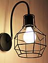 Ministil Vägglampetter,Rustik E26/E27 Metall