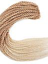 #27 Senegal Tresses Twist Extensions de cheveux 22 inch Kanekalon 20 roots /pack Brin 100g gramme Braids Hair