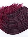 Senegal Tresses Twist Extensions de cheveux 22 inch Kanekalon 20 roots /pack Brin 100g gramme Braids Hair