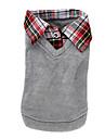 Skjorta+Väst för hundars (XS-XL, Blandade färger)