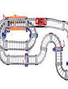 dubbelspår elbil barn leksak pussel spår bil allmän mobilisering set