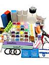 Nail Kit Nail Art Dekoration Tillbehör Nail DIY Nagellacks Kit