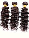 Human Hår vävar Brasilianskt hår Stora vågor 3 delar hår väver