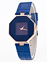 Men\'s Women\'s Unisex Dress Watch Fashion Watch Digital Stopwatch Leather Band Vintage Black White Blue Red Purple Brand