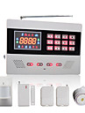 GSM Wireless & Wired Autodial Home Alarm System with Color Screen and 120 Wireless Zones