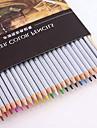 24 couleurs crayons solubles dans l\'eau (24 couleurs avec cassette de papier)