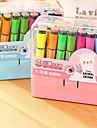 Stilou Stilou Carioci Stilou,Plastic Butoi Culori aleatorii Culori de cerneală For Rechizite școlare Papetărie Pachet de
