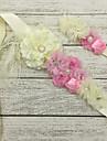 Satin Wedding / Party/ Evening Sash-Floral Flower Girl\'s 51 ¼in(130cm) Floral