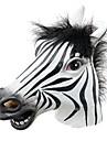 distracție Halloween masca de cal realist cap de latex / partid interesant amuzant bal mascat masti de silicon masca de fata zebră