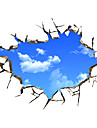 #D Perete Postituri Autocolante perete plane / 3D Acțibilduri de Perete Autocolante de Perete Decorative,PVC Material DetașabilPagina de