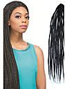 #1B Senegal / Crochet Tresses Twist Extensions de cheveux 24 Kanekalon 3 Brin 80g gramme Braids Hair