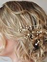 Femei Perle Cristal Diadema-Nuntă Ocazie specială Ac de Păr Păr Stick 5 Piese