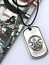 Bijoux Inspire par Assassin\'s Creed Cosplay Anime/Jeux Video Accessoires de Cosplay Colliers Argente Alliage Masculin / Feminin