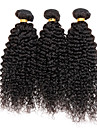3 Pieces Kinky Curly Tissages de cheveux humains Cheveux Malaisiens Tissages de cheveux humains Kinky Curly