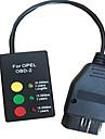 pour opel si - reinitialiser via obd2 pour lampe d\'entretien opel a zero airbag instrument de reparation