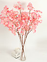 1 Gren Polyester Plast Sakura Bordsblomma Konstgjorda blommor 118(46.851\'\')