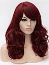 europe et aux etats-unis 22 pouces de long vin perruque frisee rouge grands cheveux