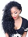 plus belle petite longueur boucles brazilian cheveux vierges glueless dentelle devant perruque / full lace wig