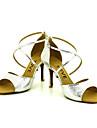 Chaussures de danse(Noir / Bleu / Rouge / Argent / Or) -Personnalisables-Talon Personnalise-Paillette-Latine / Salsa