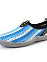 Blå Grön Marinblå-Platt klack-Herr-Komfort-Tyll-Fritid-Loafers & Slip-Ons