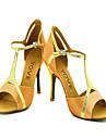 """Scarpe da ballo - Disponibile """"su misura"""" - Donna - Latinoamericano / Salsa - Customized Heel - Satin -Nero / Blu / Giallo / Rosa / Viola"""