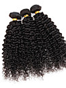 3 Pieces Kinky Curly Tissages de cheveux humains Cheveux Bresiliens Tissages de cheveux humains Kinky Curly