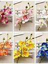 1 1 Une succursale Plastique Autres Fleur de Table Fleurs artificielles 7inch/18cm