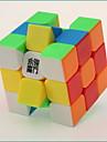 / Slät Hastighet Cube 3*3*3 / Magiska kuber Regnbåge Plastic