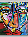 Peint a la main Celebre Personnage Portraits Abstraits Peintures a l\'huile,Classique Un Panneau Toile Peinture a l\'huile Hang-peint For